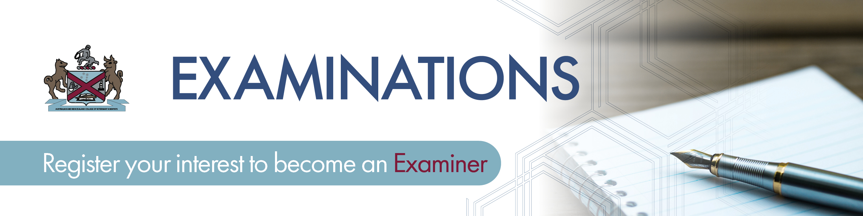 Register your interest to become an ANZCVS Examiner